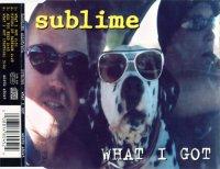 SUBLIME / What I Got 97年リリース シングル  UK & Europe流通盤 MCSTD 48045