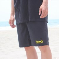 Lラスト1枚で終了 Howdy / Mini Logo Shorts Black