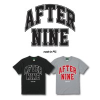 "FUCKIN' MELLOW CLOTHING / ""AFTER9 10th"" designed by PICTURE MOUSE Tシャツ BLACK"