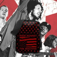ROCKSAX / RAGE AGAINST THE MACHINE - USA STARS クロスボディーバッグ