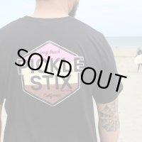 XLラスト1枚で終了 PICKLE STIX SURFBOARDS / OG Tシャツ BLACK